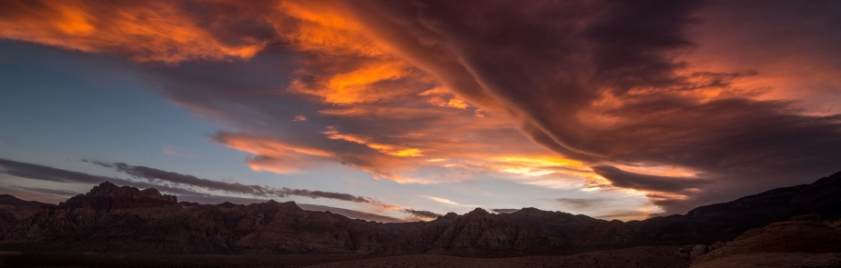 Supermoon sunset II-1382