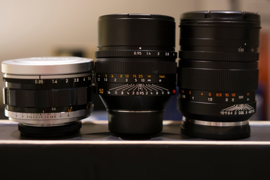 Noctilux, Canon, and the Mitakon 0.95's… Holy Crap that's fast… Part II of the Fast Fifties.